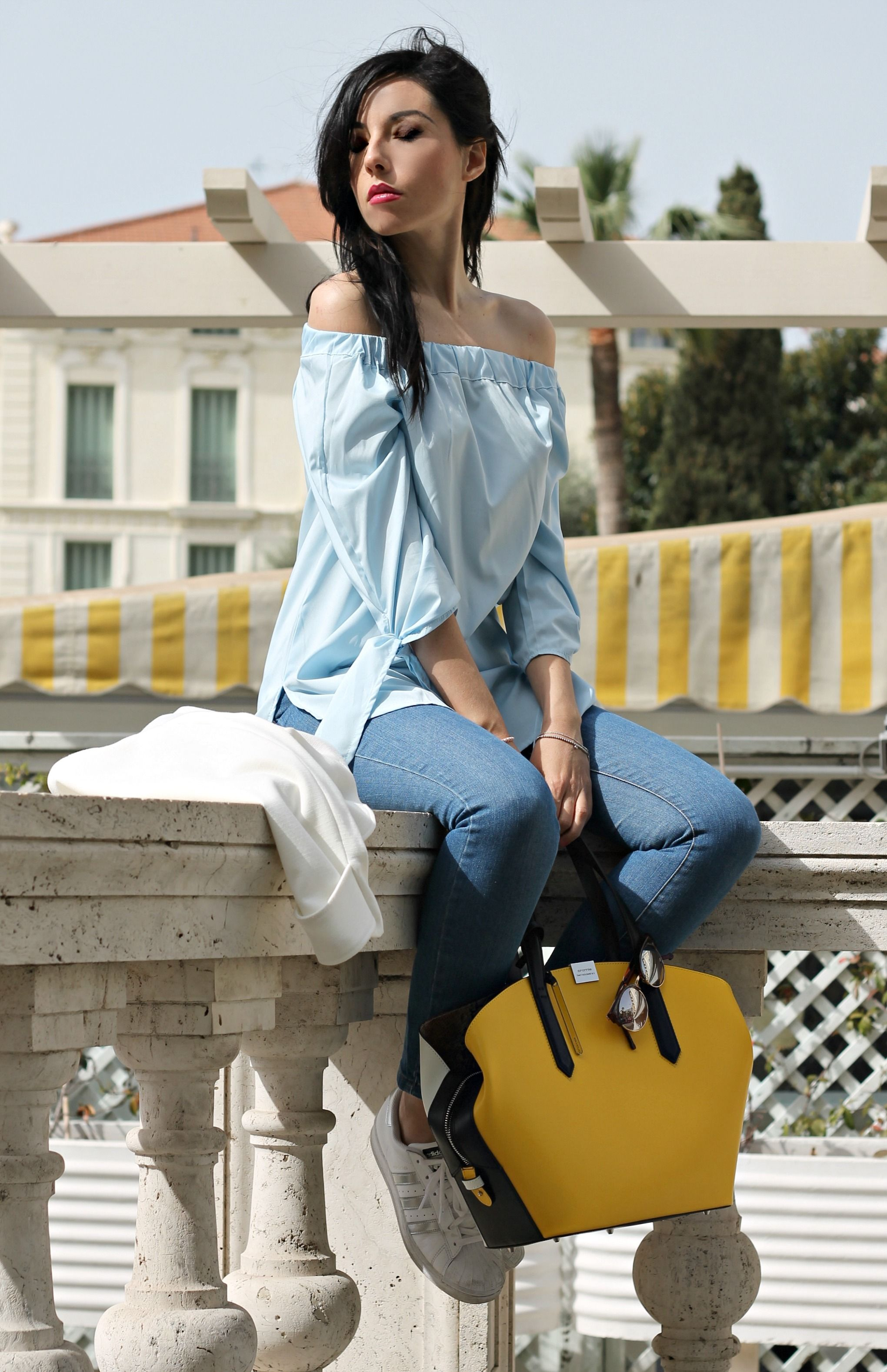 Borse Casual : Casual chic outfit style ger elisa