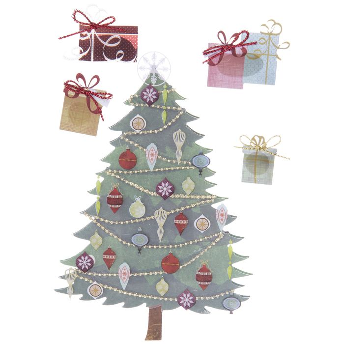 Christmas Ty 2021 Products Christmas Tree 3d Stickers Hobby Lobby 644807 In 2021 Christmas Cards To Make Scrapbook Paper Crafts Large Christmas Tree