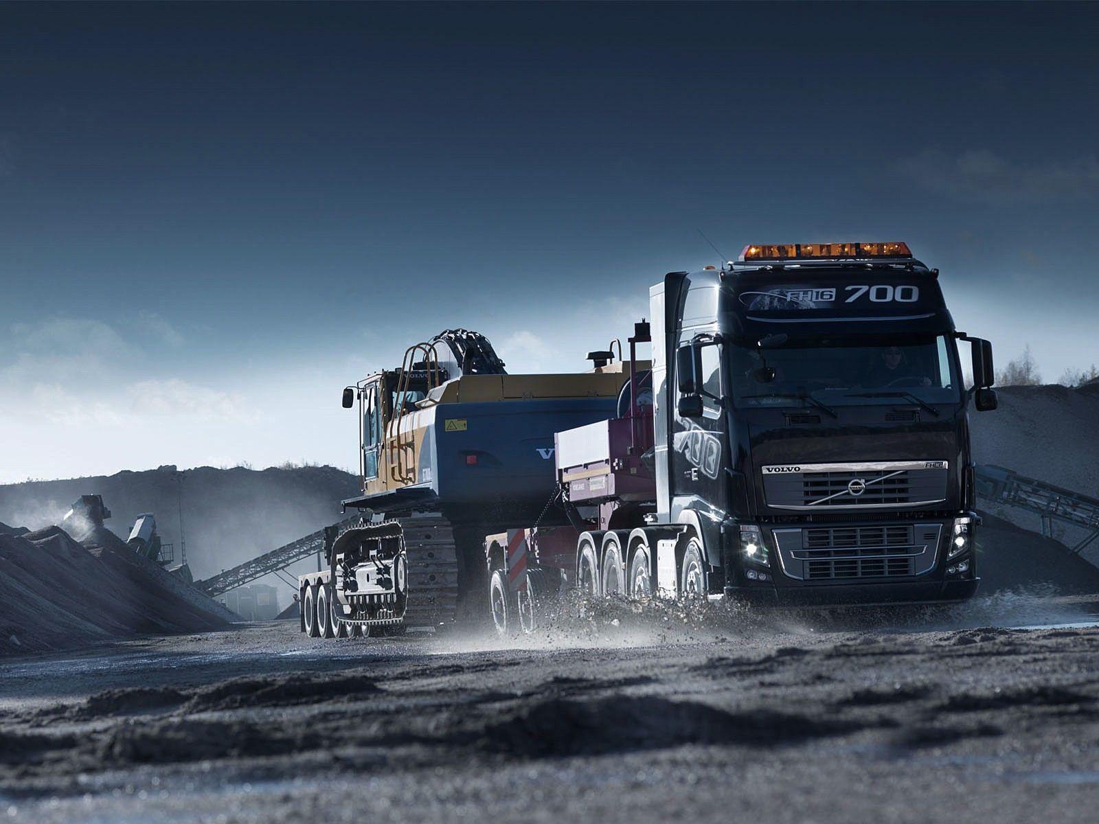 Volvo Heavy Hauler Truck Trucks Big Trucks Volvo Trucks