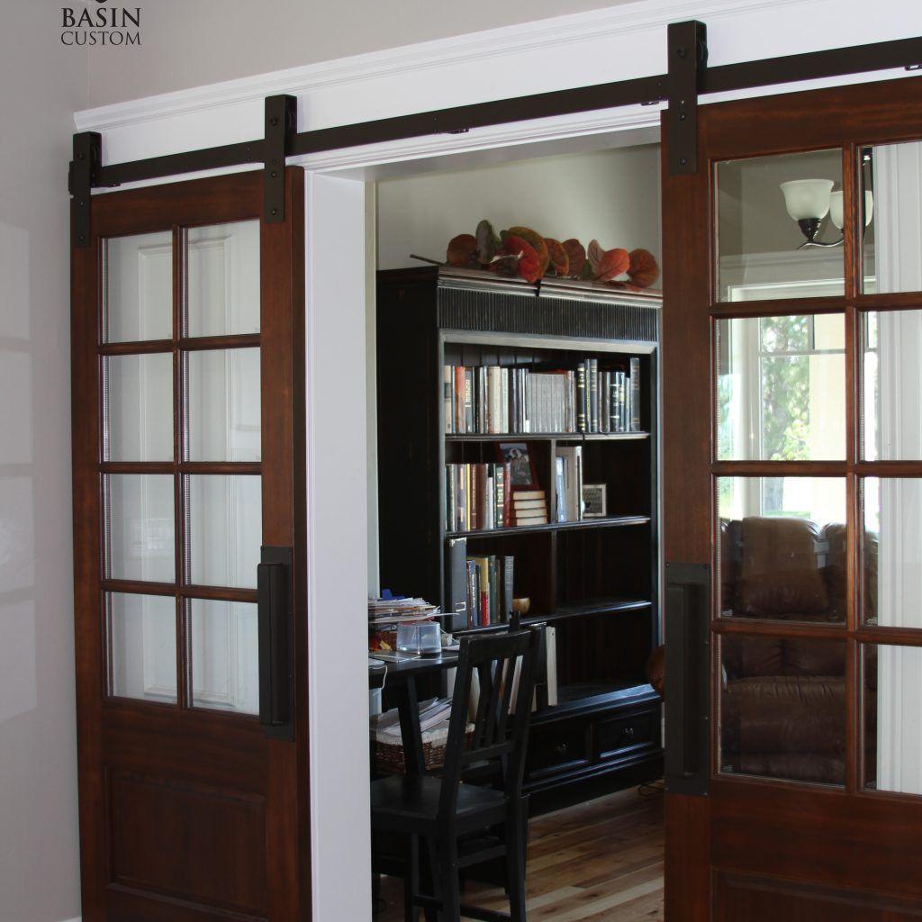 Interior Double Barn Door Hardware Barn Doors Hardware Pinterest