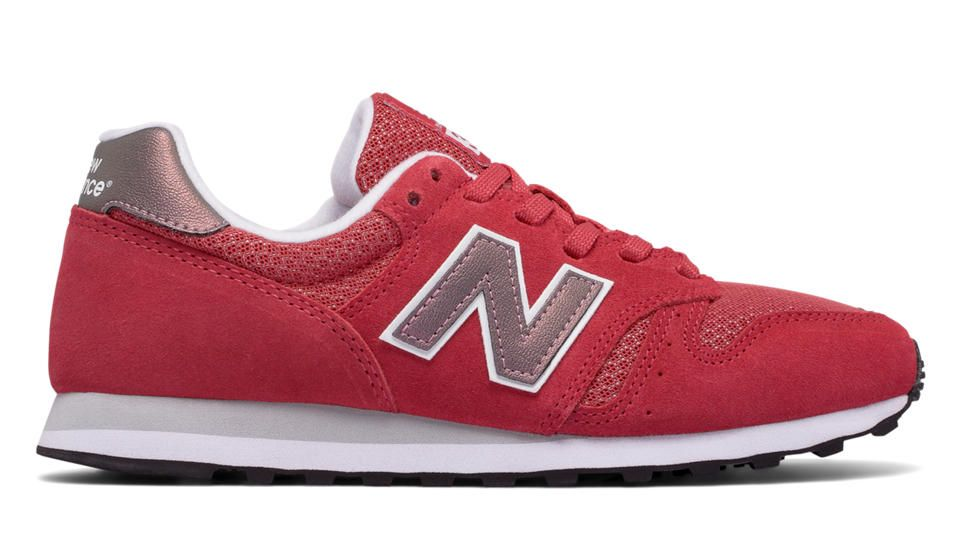 new balance 373 suede rosa