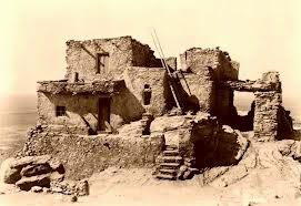 Photo of American Indian's History: About the Building of Hopi Indian Houses