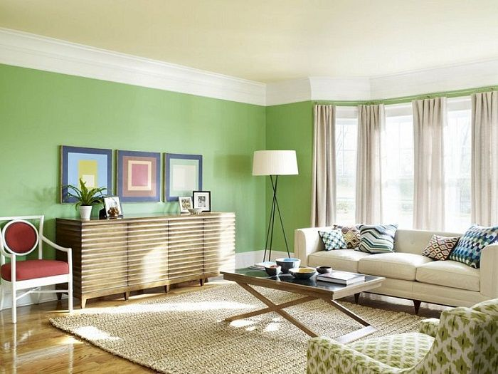 20 Pantone Inspired Interiors You Will Love To See Attractive - wohnzimmer braun mint