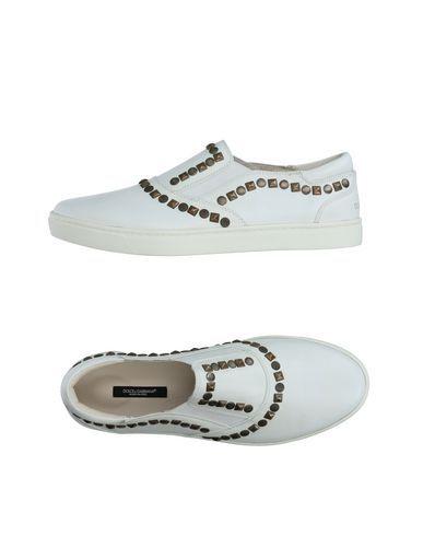 DOLCE & GABBANA Men's Low-tops & sneakers White 9.5 US