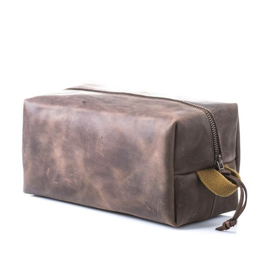 9b8d735260 Dopp kit No 77 Toiletry bag Necessairies bag Travel kit Leather bag Men s pouch  Leather pouch Birthd