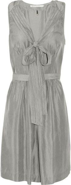 #Lovely grey dress !!! grey dress #2dayslook #greyfashion www.2dayslook.com