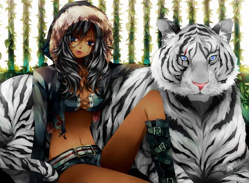 Pin On Black Anime Art An Beauty