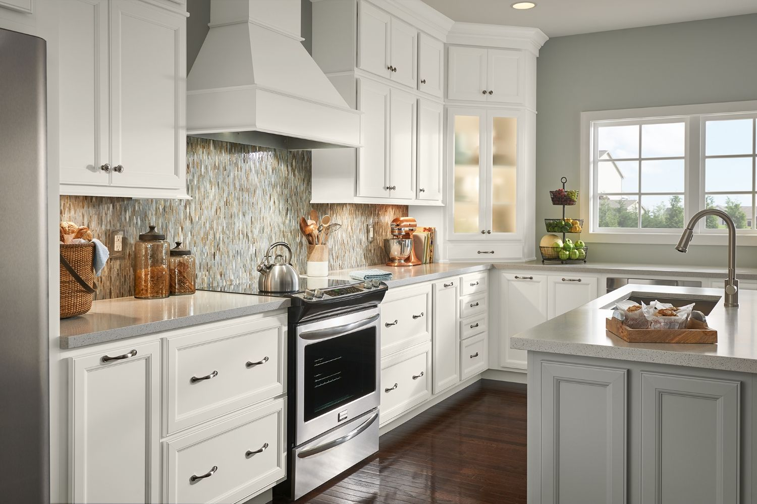 Glen Ellen Collection American Woodmark Kitchen Cabinets Inexpensive Kitchen Cabinets Semi Custom Kitchen Cabinets