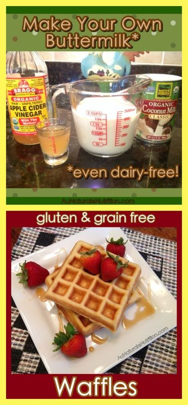 Buttermilk Waffles! Ultra light, fluffy, and delicious! Gluten free, grain free, paleo, lower-carb, dairy free)