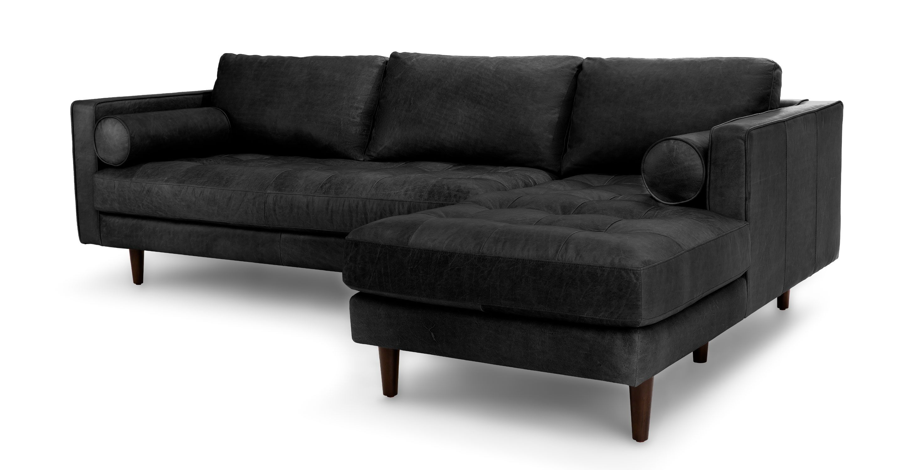 Sven Oxford Black Right Sectional Sofa Sofa Sectional Sofa Grey Sectional Sofa