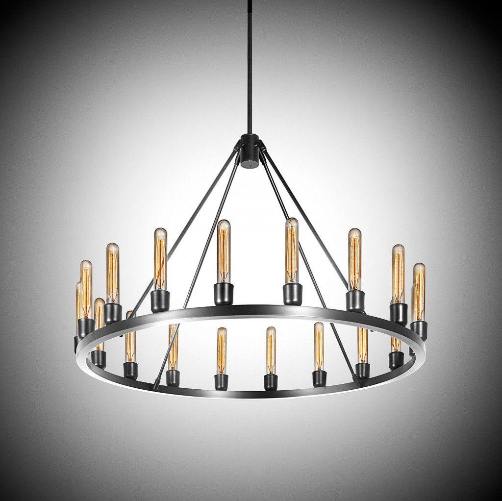 modern chandelier | Niche Modern\'s Spark 36 Modern Bespoke ...