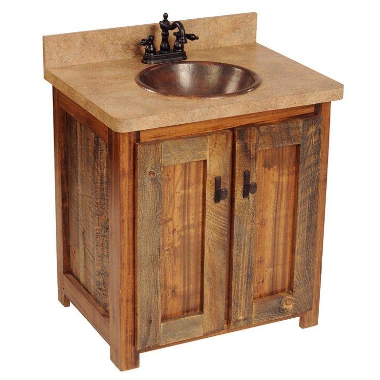 Wyoming Barnwood Bathroom Vanity