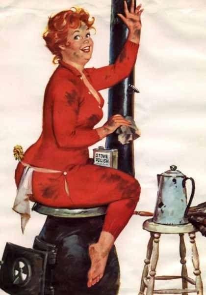 Image result for Hilda in long johns