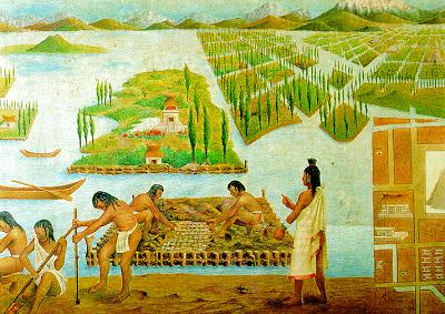 Los Aztecas Floating Garden Hydroponic Gardening System Aquaponics