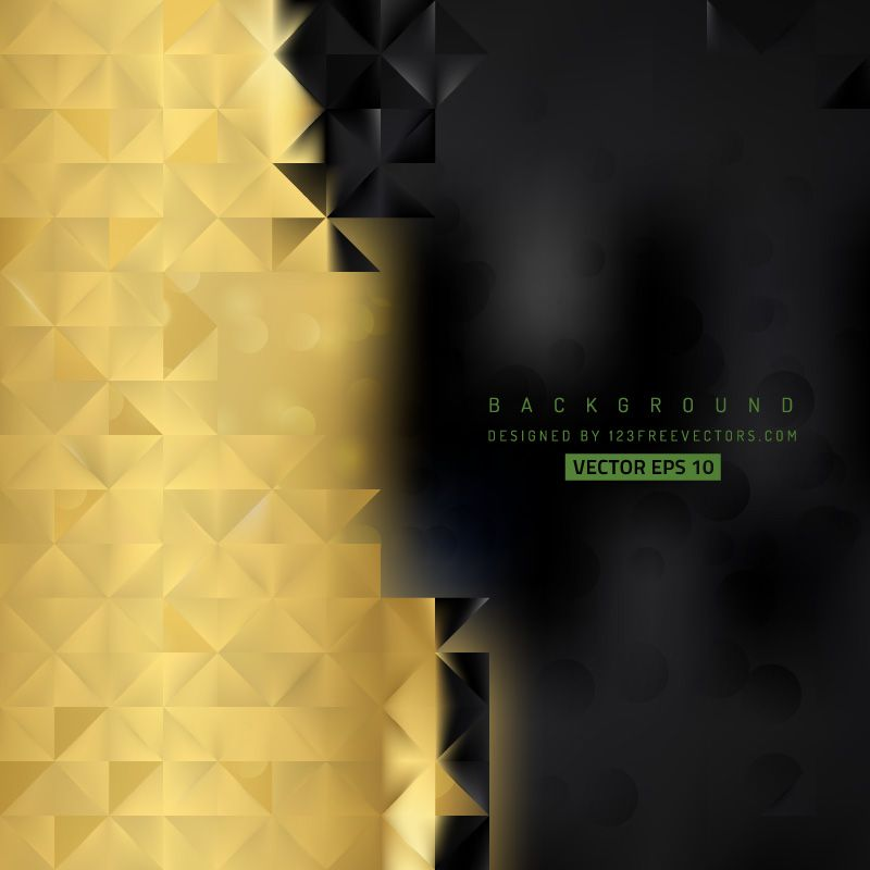 abstract black gold background template gold background