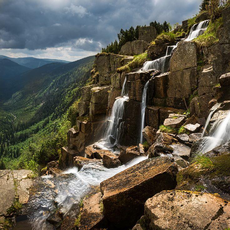 Pančavský vodopád, Krkonoše