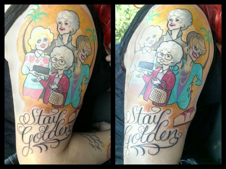 d1e818960faa Golden Girls Tattoo | Love | Girl tattoos, Golden girls tattoo ...