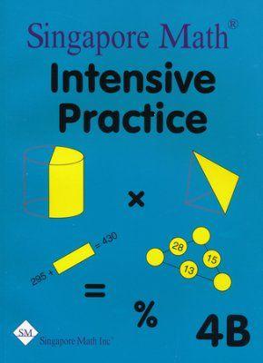 singapore math primary math intensive practice u s ed 4b rh pinterest com Houghton Mifflin Math Pacing Guide 6th Grade Math Pacing Guides