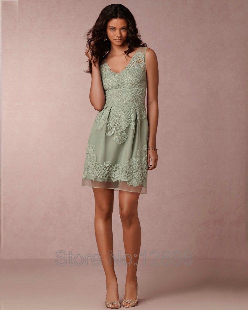 Image Result For Sage Green Short Bridesmaid Dresses Bridesmaid Dresses Mint Bridesmaid Dresses