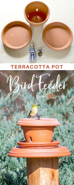 Outdoor Decorating : Create an easy pedestal terracotta ...