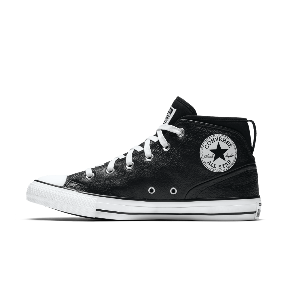 a13f389837a8 Converse Chuck Taylor All Star Syde Street Leather High Top Men s Shoe Size  11.5 (Black)