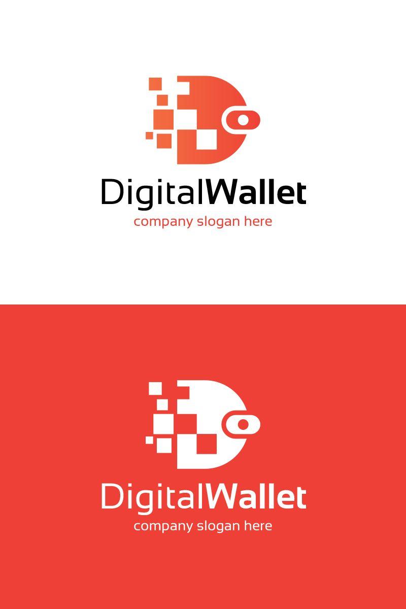 Digital Wallet Logo Template 80567 Logo Templates Logos Digital Wallet