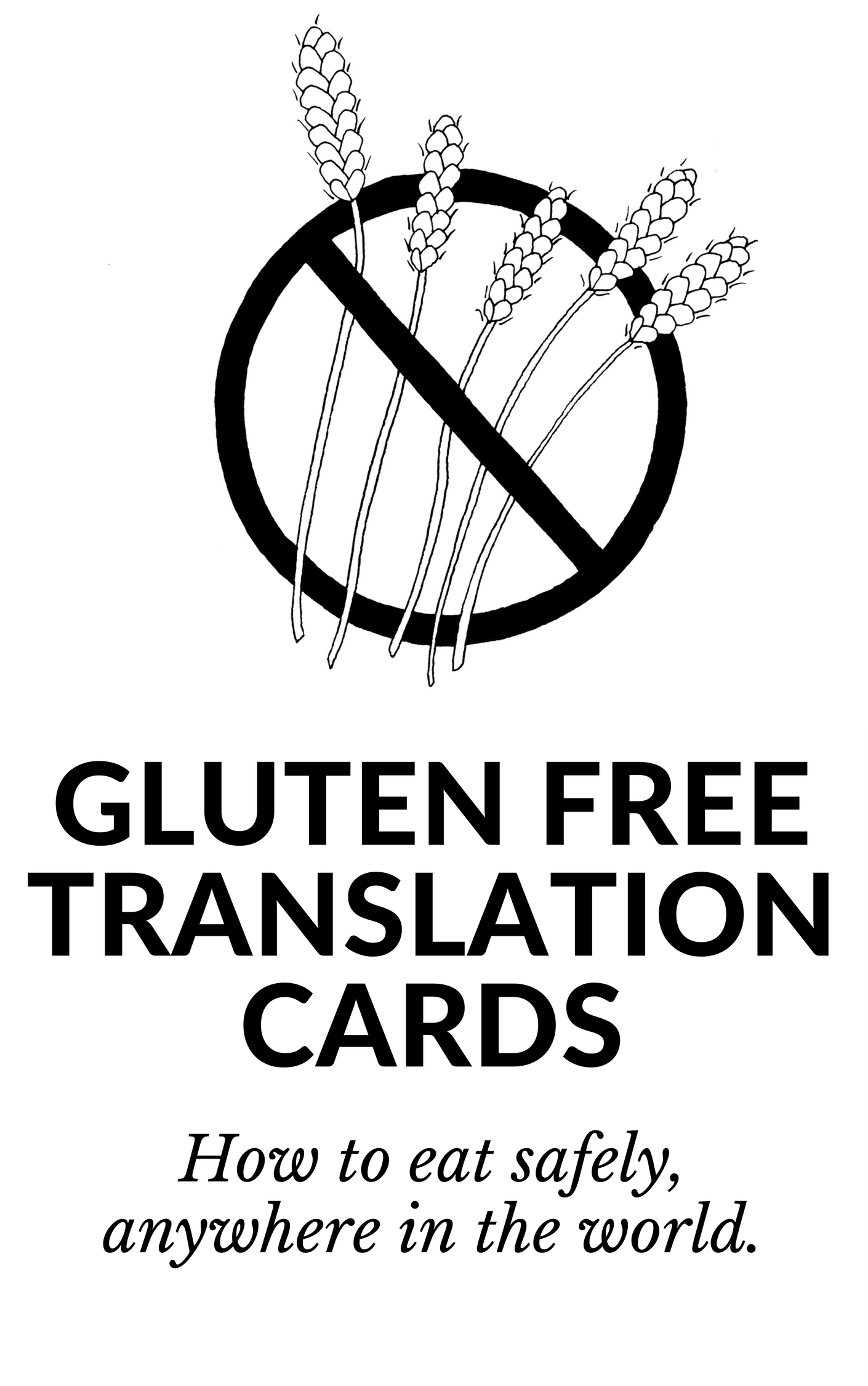 Gluten Free Restaurant Cards: Eat Safely As a Celiac