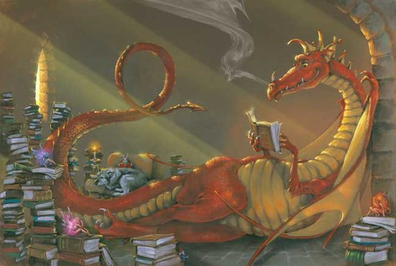 Image result for reading dragon
