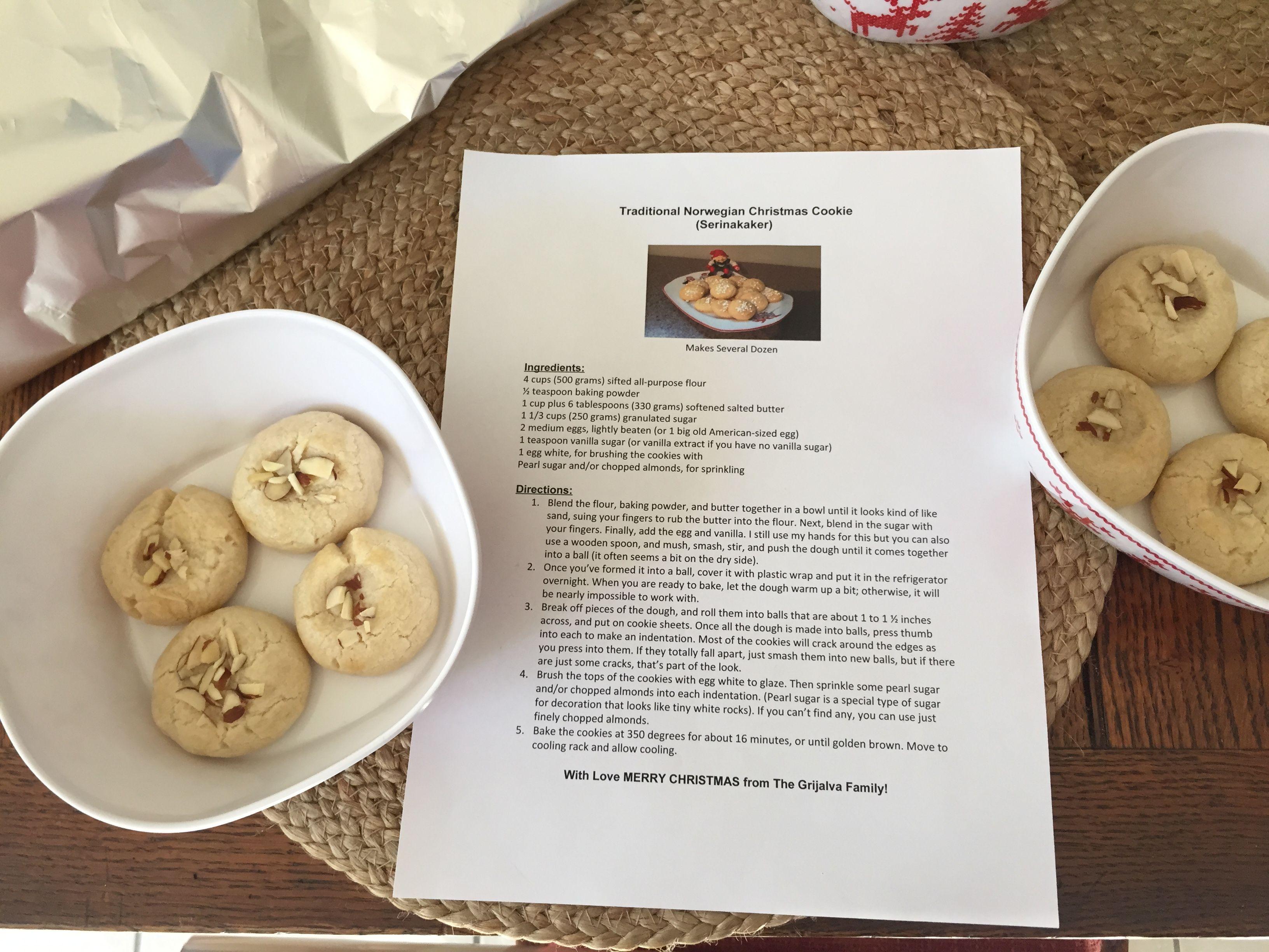 Serinakaker Norwegian Christmas cookies! | Norwegian Heritage ...