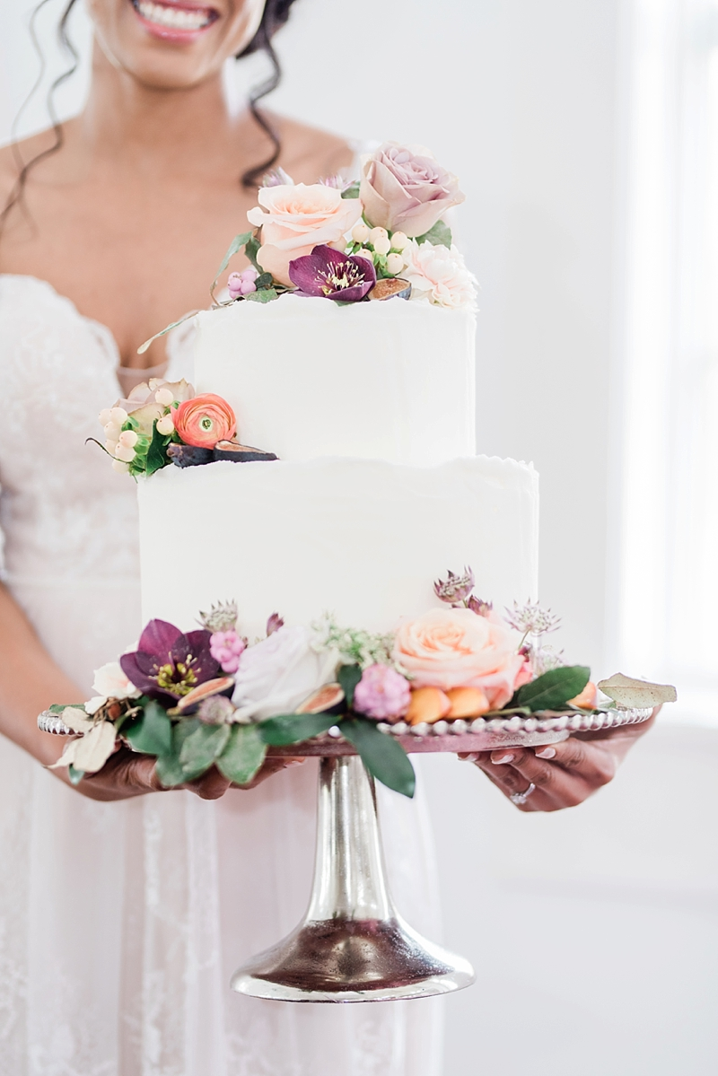 The Sweetest Fig And Peach Color Wedding Inspiration Ever Wedding Cake Decorations Wedding Cake Inspiration Wedding