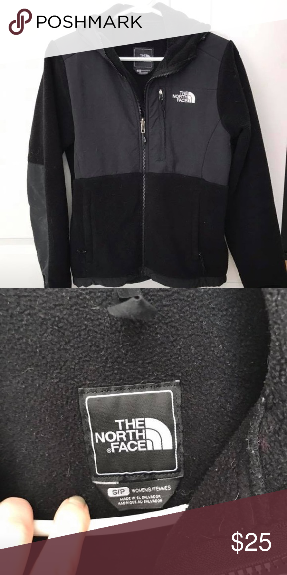 c3aa2c1e0 North Face Black Fleece zip up-Women's small Used: like new North ...