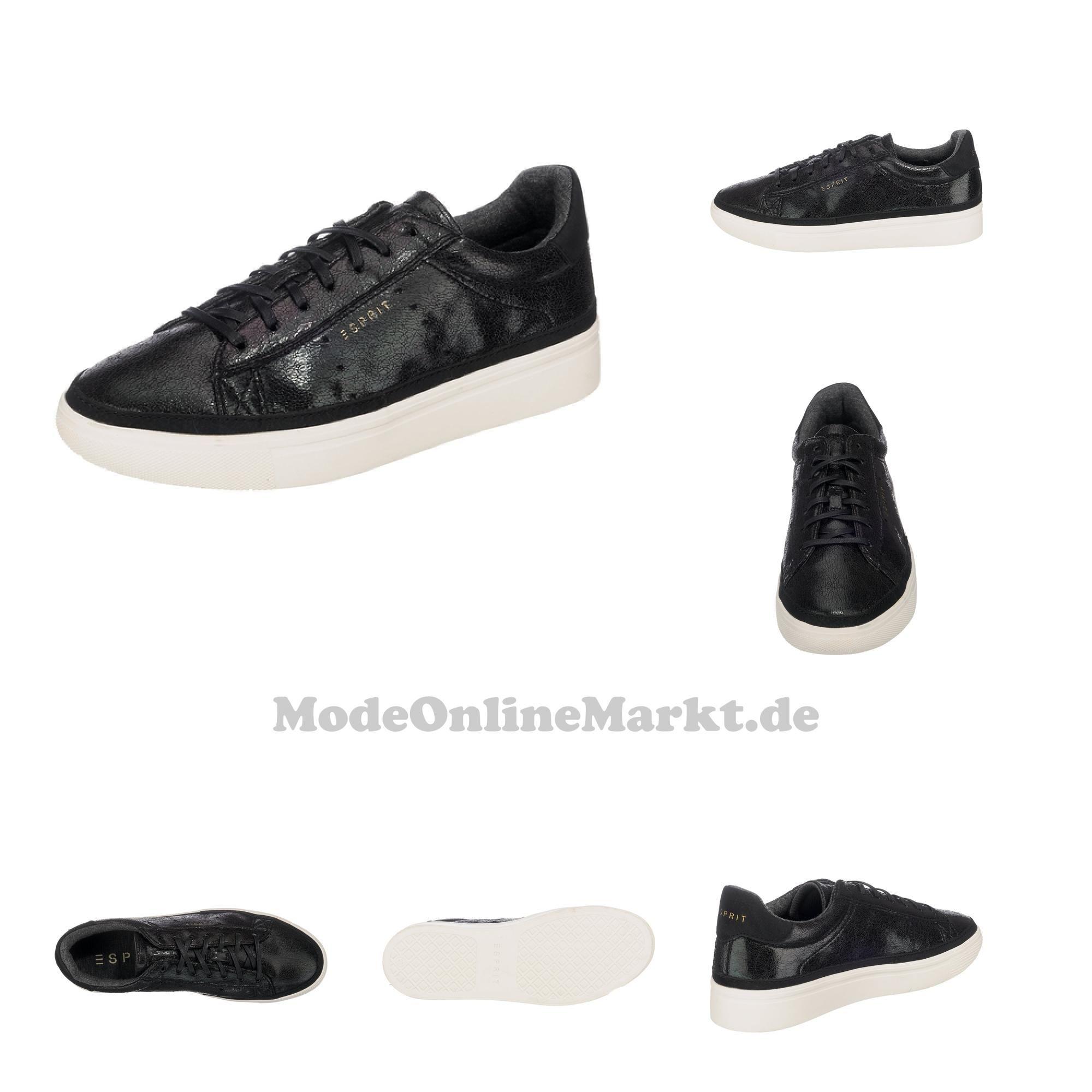 4057966617458 | #ESPRIT #Damen #Lizette #Lace #Up #Sneakers #schwarz