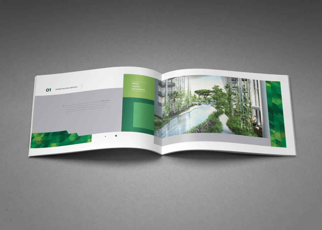 Add a unique touch to your real estate brochure design. | Real ...