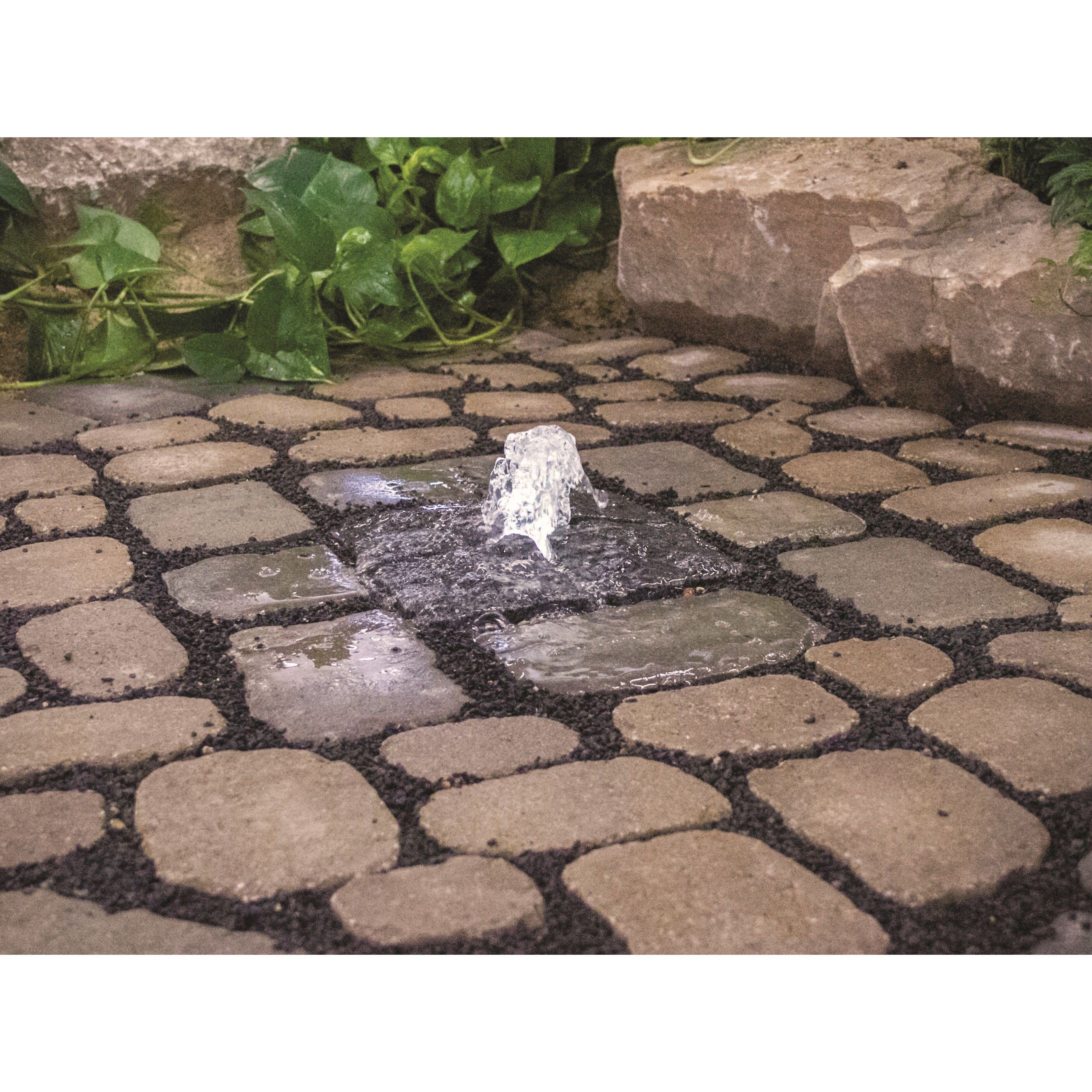 Natural Stone Bubbling Fountain Fountains Outdoor Water Features Stone Fountains