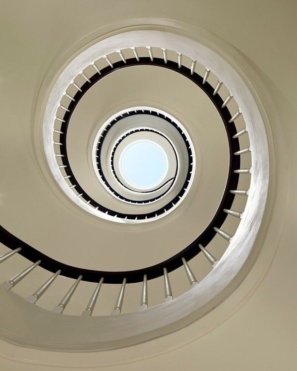 Compact Spiral Staircase: Just Because You Use Them To Walk Up And Down Doesn't Mean