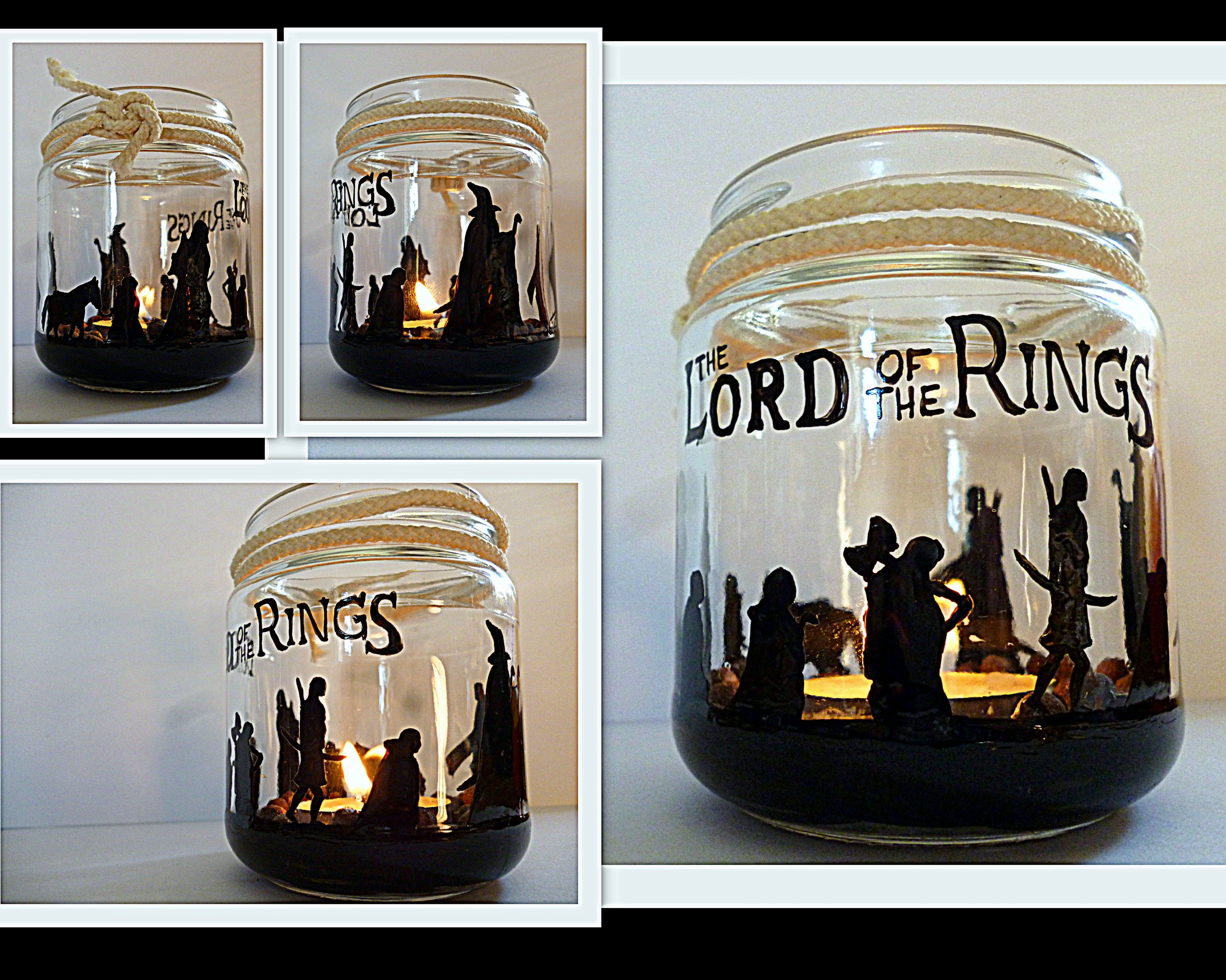 Best diy candle rings ideas on pinterest