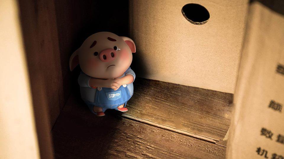 Tuyển tập 40 hình nền lợn con hóm hỉnh cho máy tính cực đáng yêu