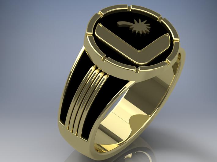 Flash Ring DC Legion Flight Ring Green Lantern Power Ring Spectrum Set of 8