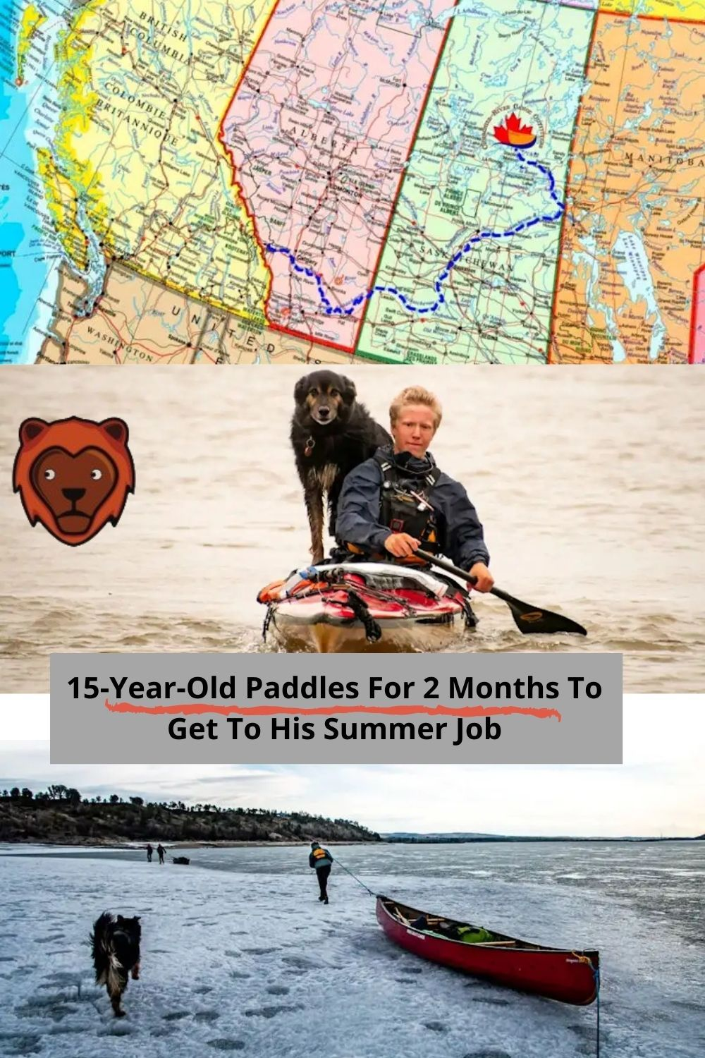 15 Year Old Paddles For 2 Months To Get To His Summer Job In 2020 Funny Pictures Funny Photos Amazing