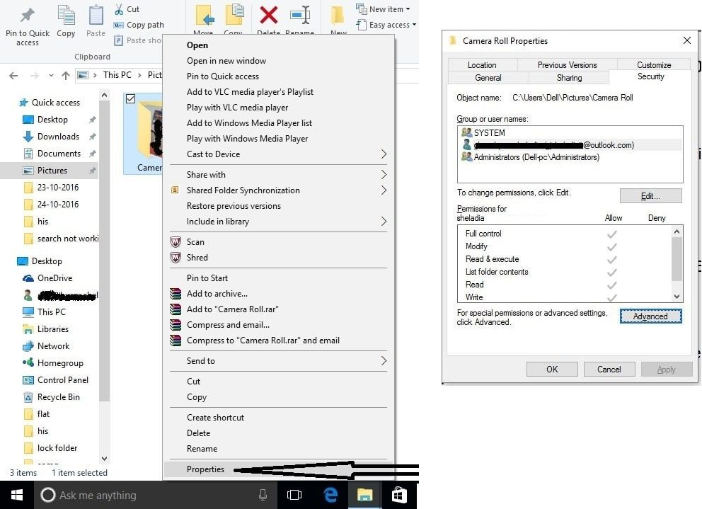 windows 10 camera is not working