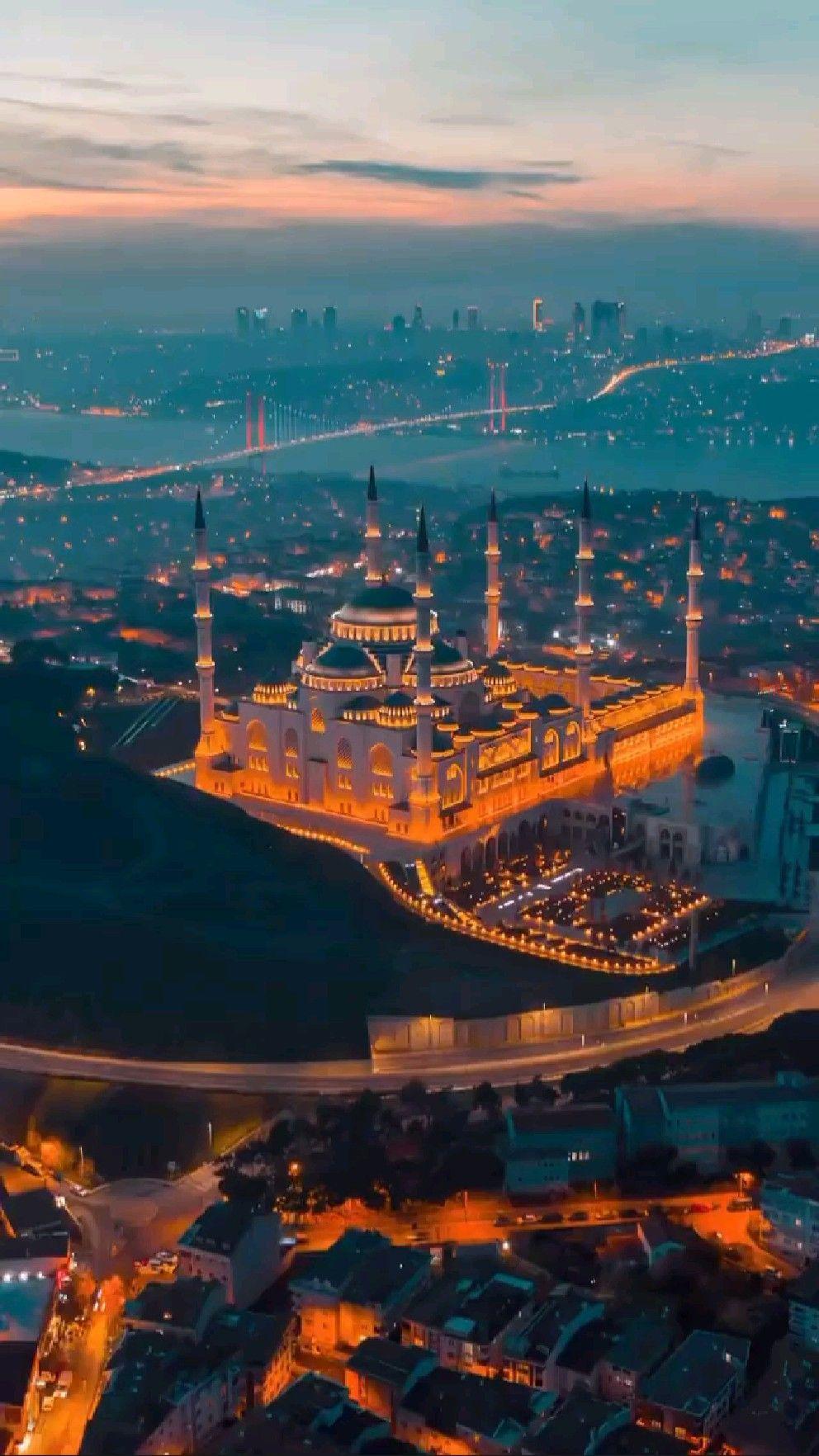 Night View Of Turkey