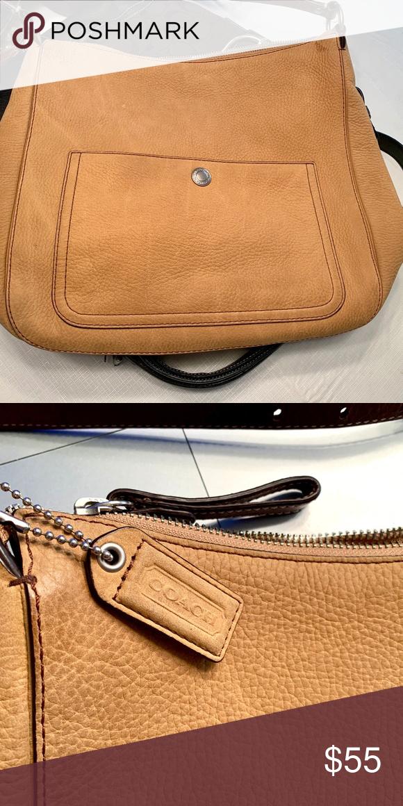 Coach suede handbag Tan Suede Coach handbag in pristine condition. Minimal  wear 2a8a78a8fb96b