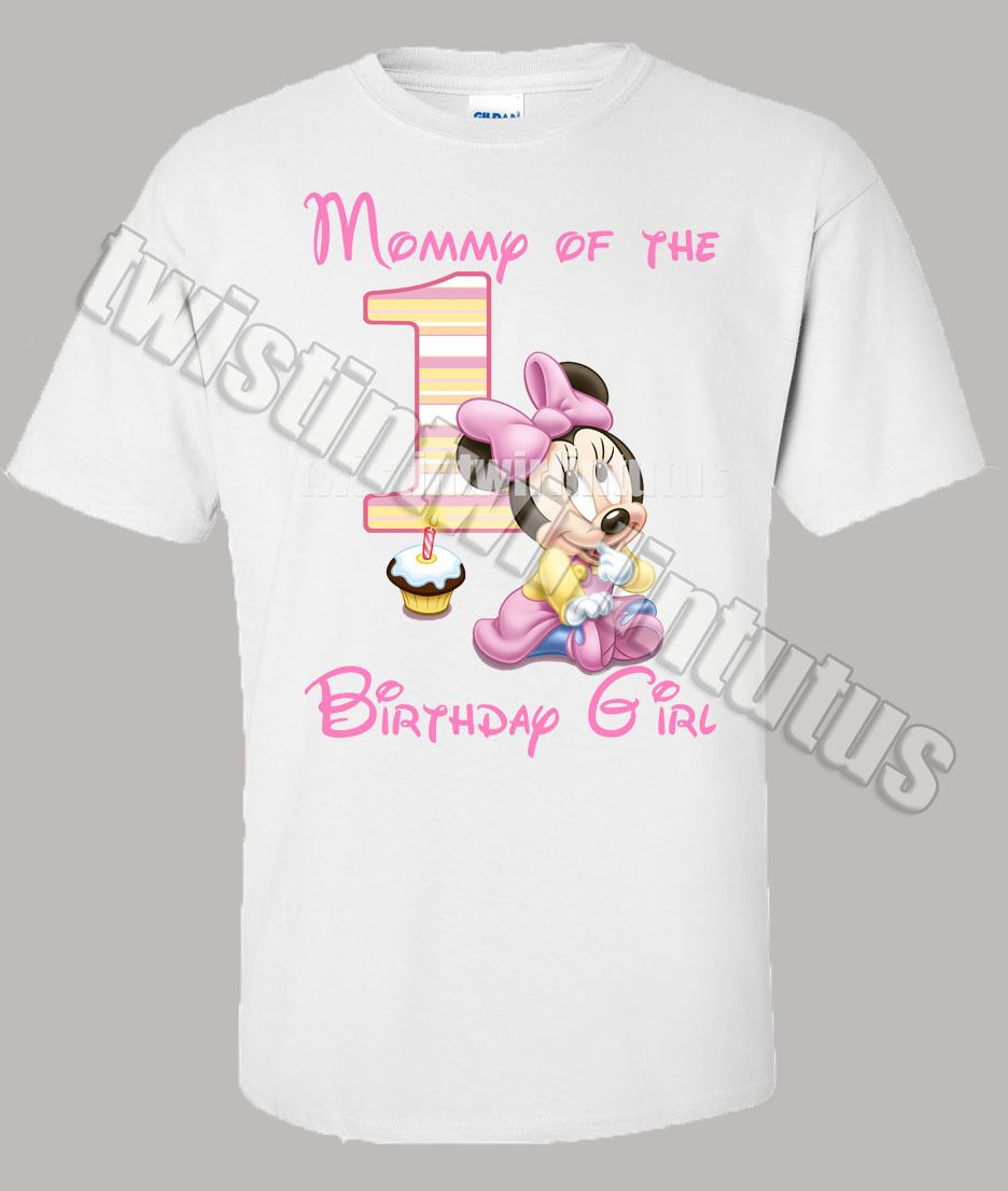 Birthday Outfit For Mom: Minnie Mouse Mom Shirt