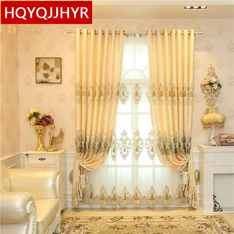2017 Custom Made European Royal Luxury Curtains For Living Room Awesome Luxury Curtains For Living Room Design Inspiration