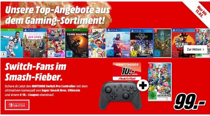 Angebot Angebote Aus Dem Gaming Sortiment Bei Mediamarkt Gaming Media Markt Nintendo Switch