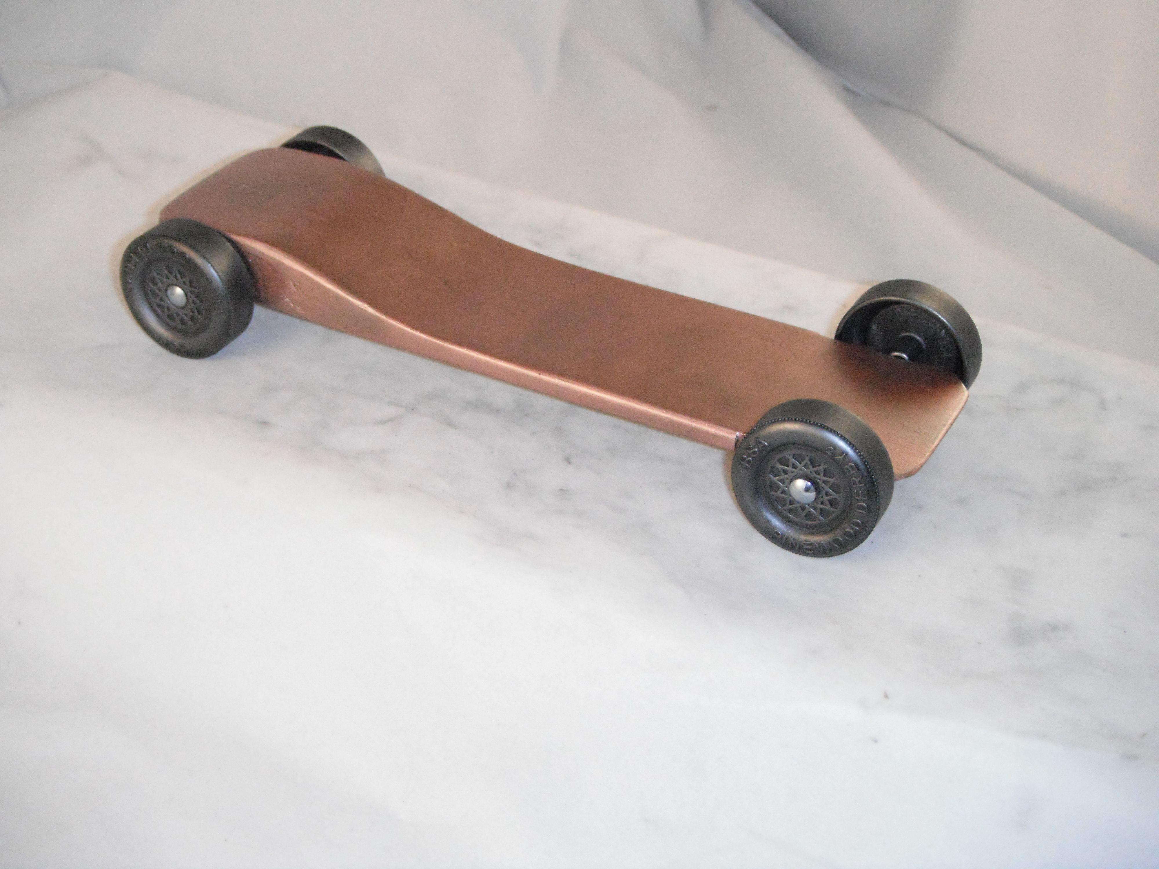 Pinewood Derby Car Body Awana Fast Speed Physics Lecture Pinewood