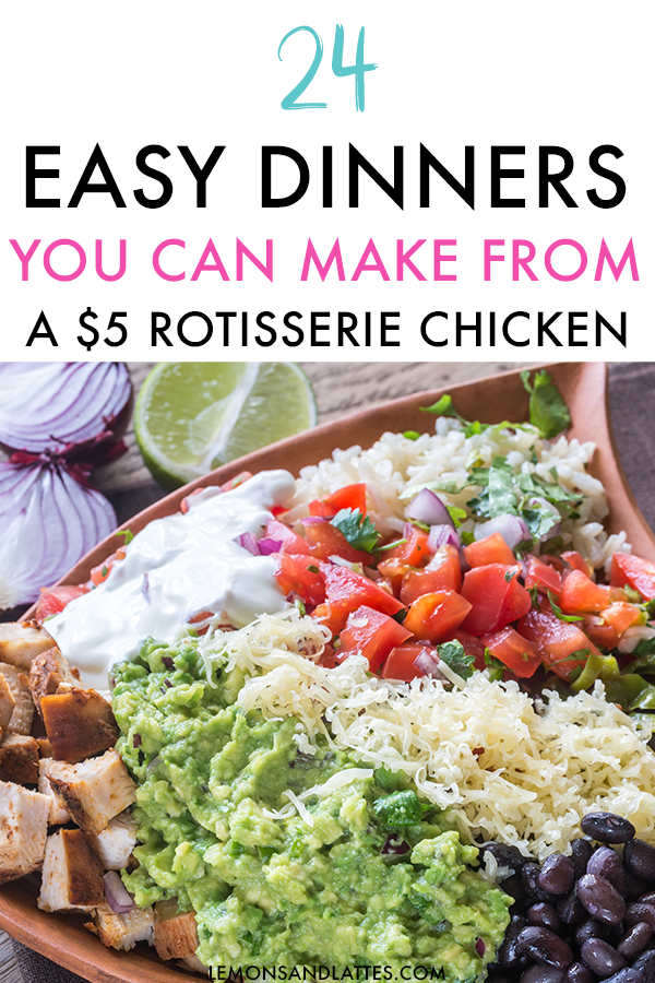 24 Easy Rotisserie Chicken Recipes to Make for Dinner images