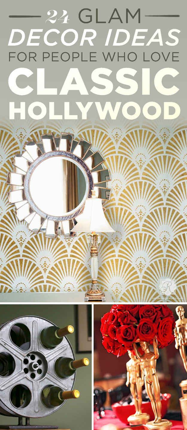 24 Ways To Decorate Like You Re An Old Hollywood Star Hollywood