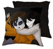 Creepypasta Pillows Jeff The Killer And Masky Pillow By
