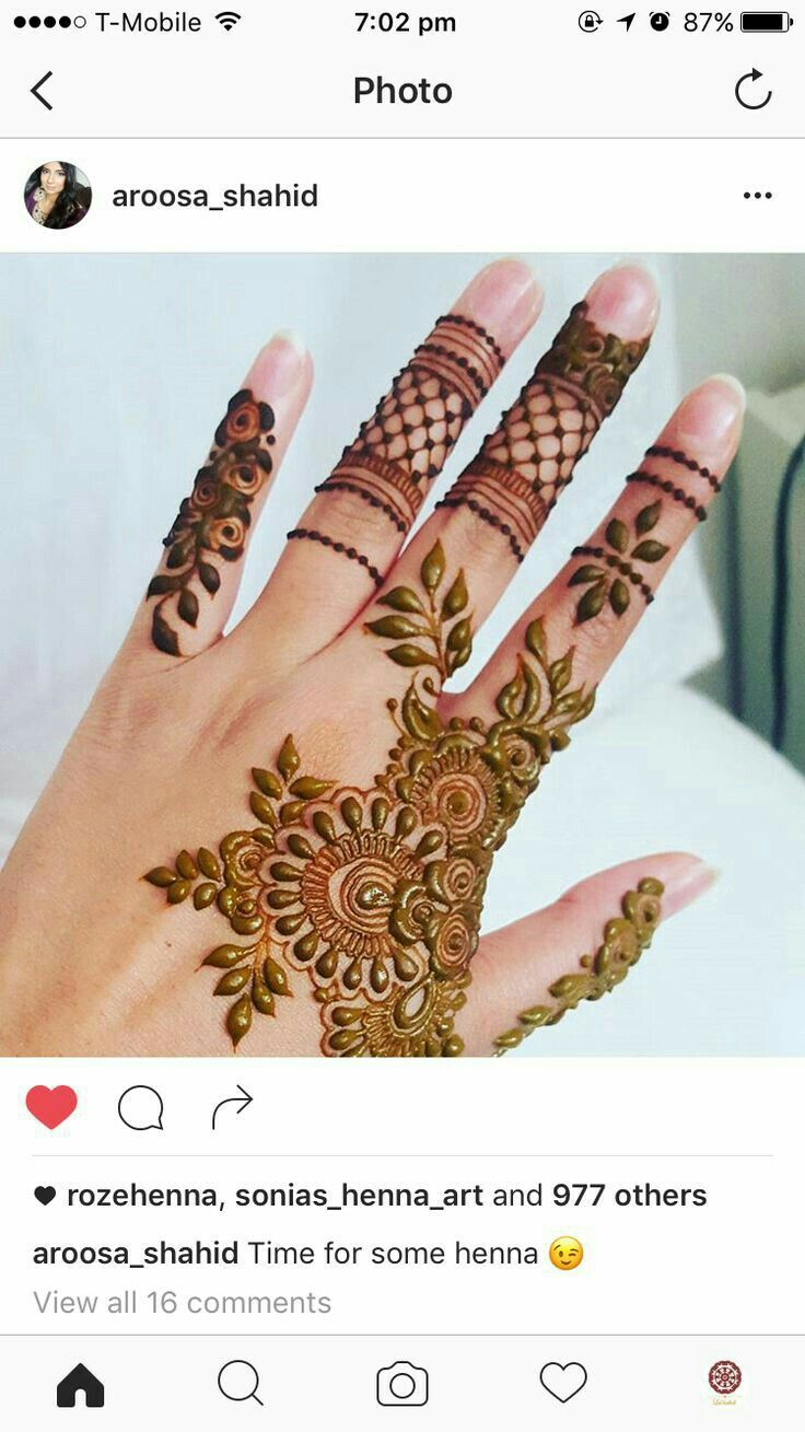 13 Unique Henna Designs Doing The Rounds This Wessing: Pin By ♛ZIZƱ_ႳƱΣΣ∏♕ On Henna Designs (With Images
